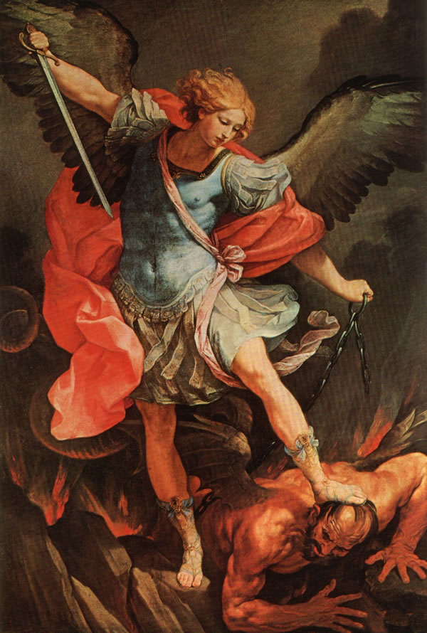 St Michael Archangel by Guido Reni
